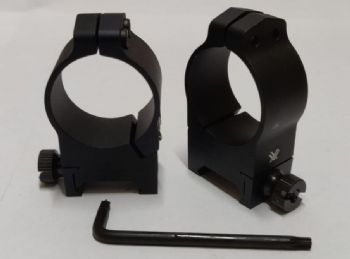 Vortex Pro Rings 30mm tube HIGH Weaver/Picatinny Rifle Scope Mounts VPR-30H